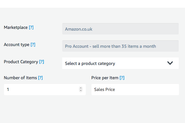 How to calculate your Amazon merchant fees