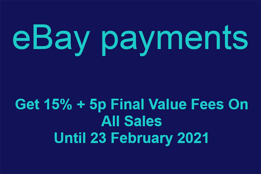 eBay payments Low Cost Items Promotion ('Micropayments')